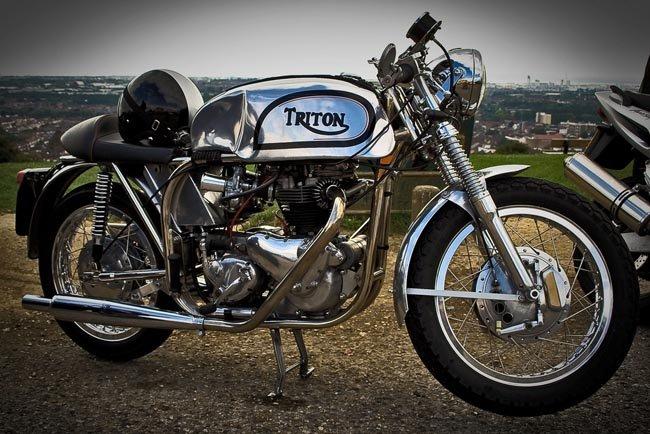 Triton la Café Racer por excelencia