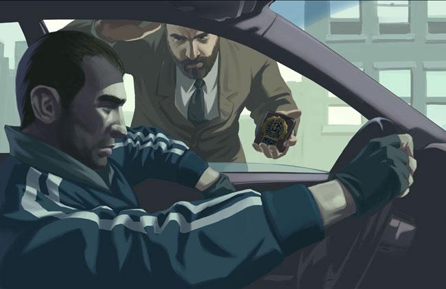 Niko Bellic en Grand Theft Auto IV