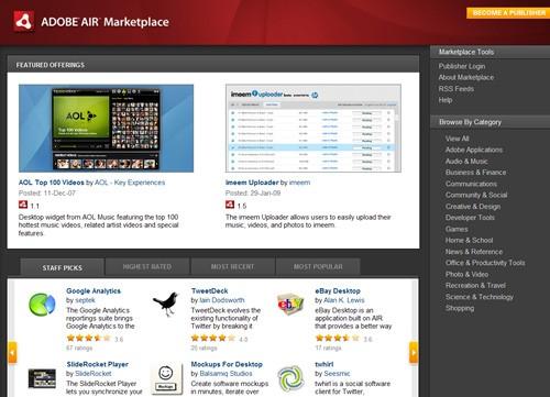 Adobe AIR Marketplace