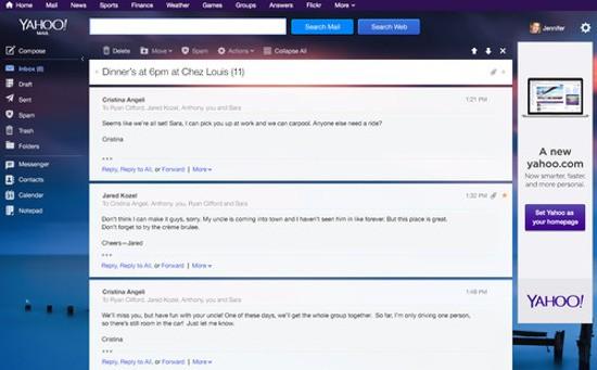 Yahoo Mail, un terabyte de almacenamiento gratuito