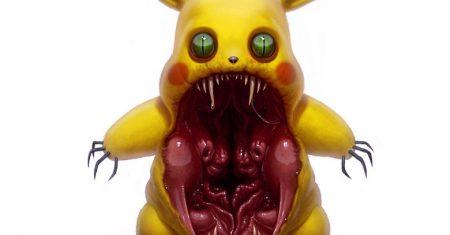 Pikachu Zombi