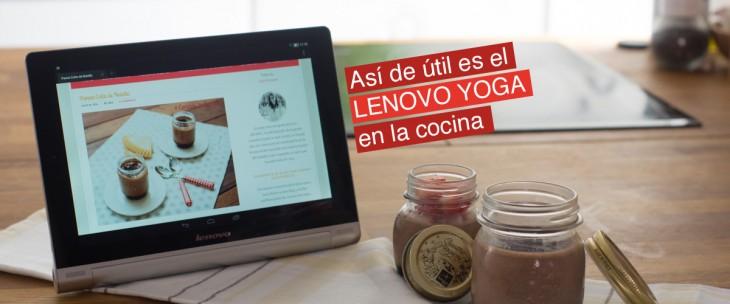 Lenovo Yoga en la cocina