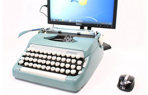 Máquina de escribir USB