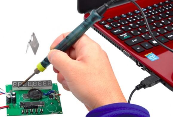 Soldador de estaño USB