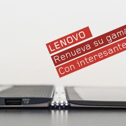 Novedades Lenovo