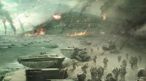 Call Of Duty 2 narra con precisión el desembarco de Normandía