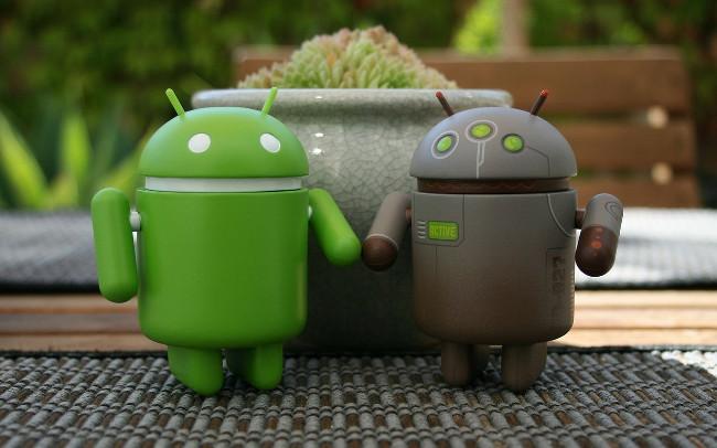 android de vuelta a la fábrica
