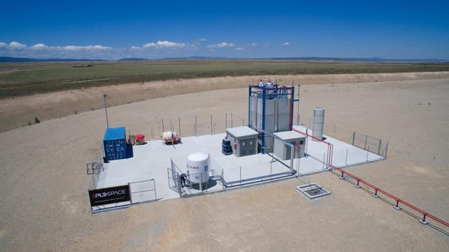 Banco de ensayos para probar tecnología de propulsión en España, ubicado en el Aeropuerto de Teruel.