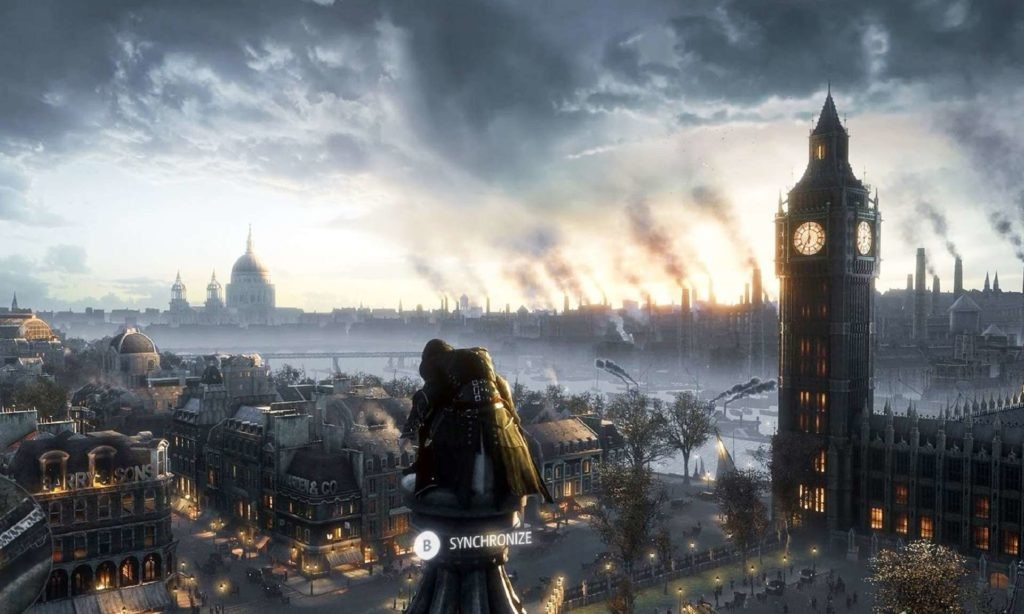 Londres in flames