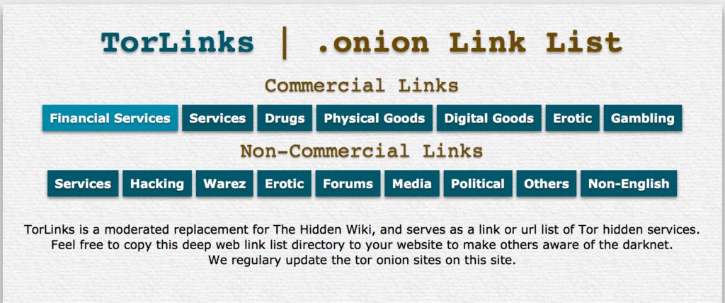 Captura de Onion