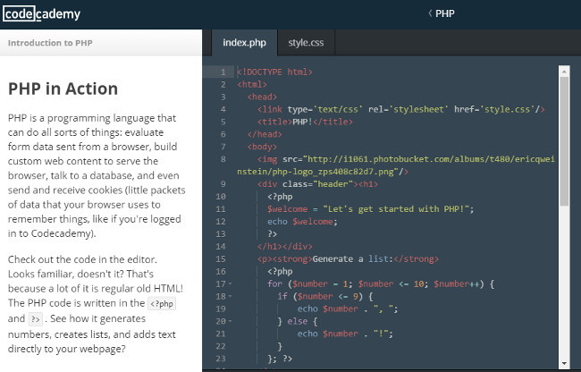 php-codeacademy
