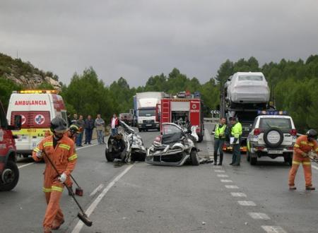 Actuacion tras accidente de trafico