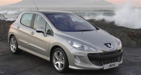 Peugeot 308 con Michelin de baja resistencia