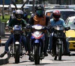 Motos y ciclomotores por la ciudad