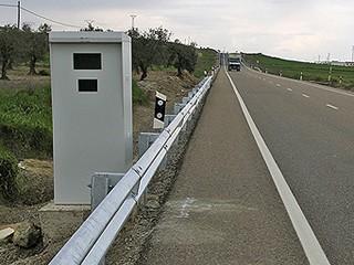 Radar fijo en la autovía T-11