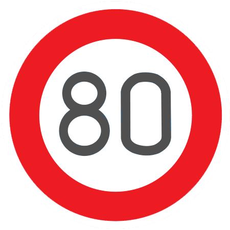Limite 80 Km/h