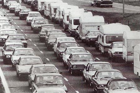 Atasco en Bristol, 1982