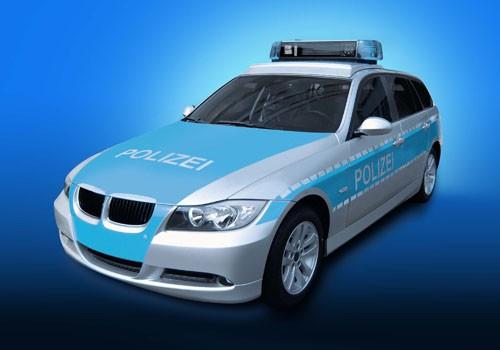Coche de policia BMW Serie 3 Touring