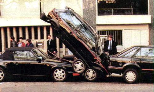 Estacionamiento peligroso