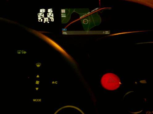 GPS modo nocturno