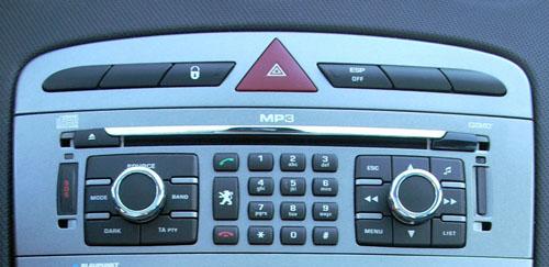 Navegador del Peugeot 308