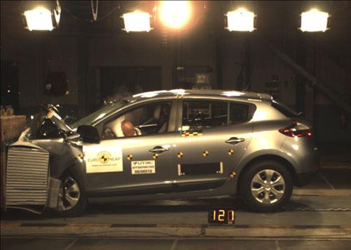 Renault Megane - EuroNCAP