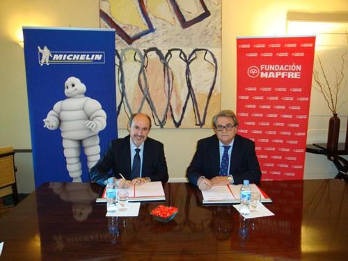 Acuerdo Michelin-Fundación Mapfre