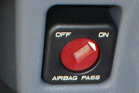 Desconexion de airbag