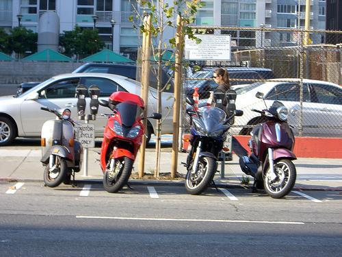 Aparcamiento motos