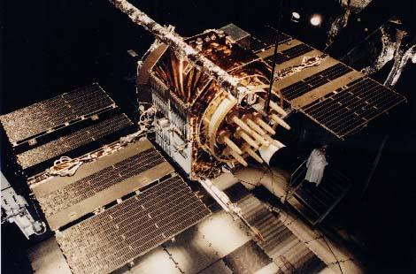 Uno de los satélites del sistema NAVSTAR-GPS.