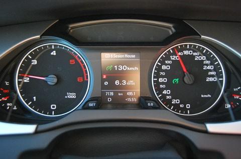Audi A4 - Control de crucero
