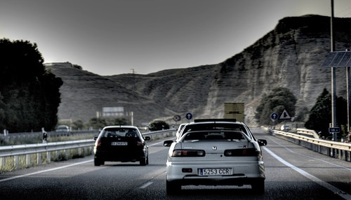 Conducción en autopista