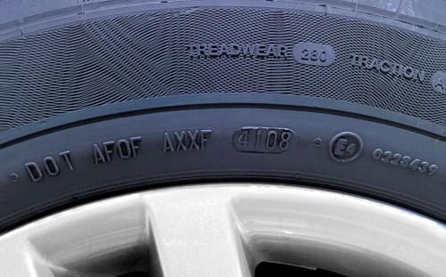 Fecha de fabricación del neumático