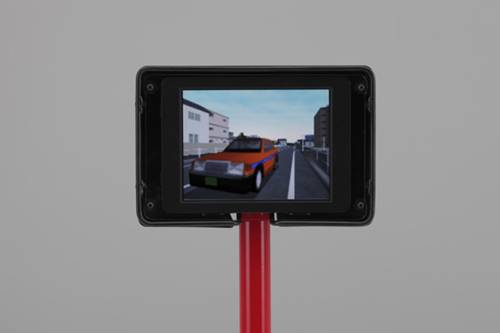 Honda Bicycle Simulator Monitor Trasero