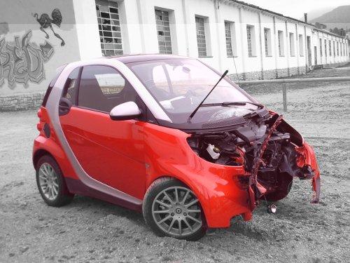 coche siniestrado