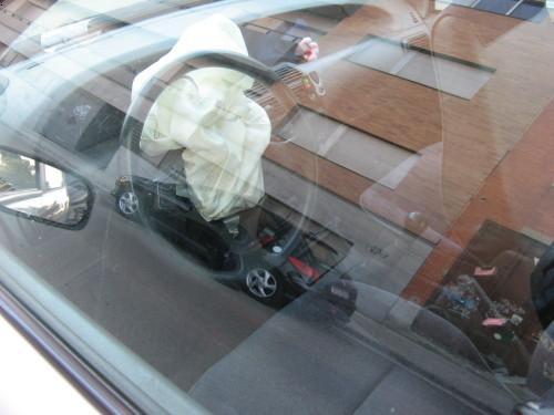 Airbag explotado