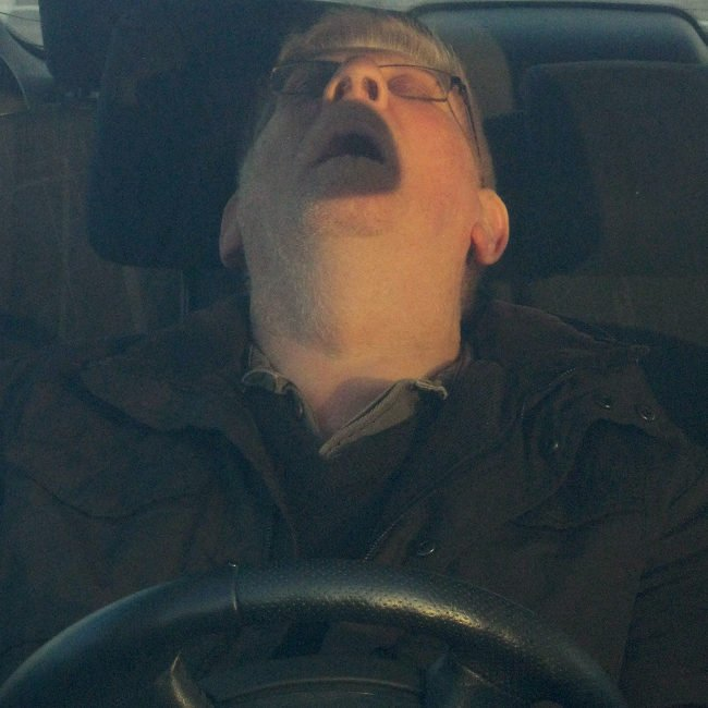 Conductor durmiendo