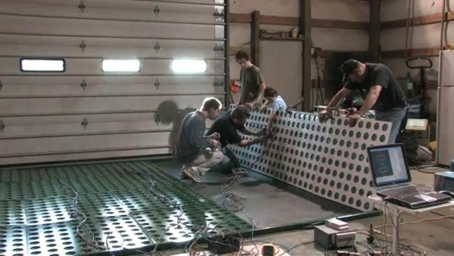 Montaje de un panel solar