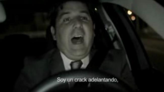 Bobo adelantando, campaña de Tráfico del Gobierno Vasco