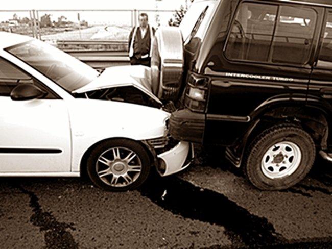 Accidente con daños materiales
