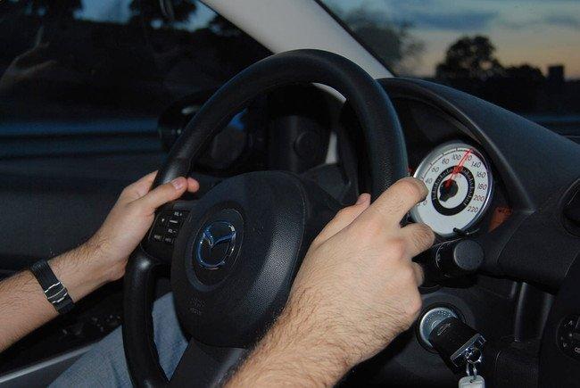 Conducir a 120 km/h