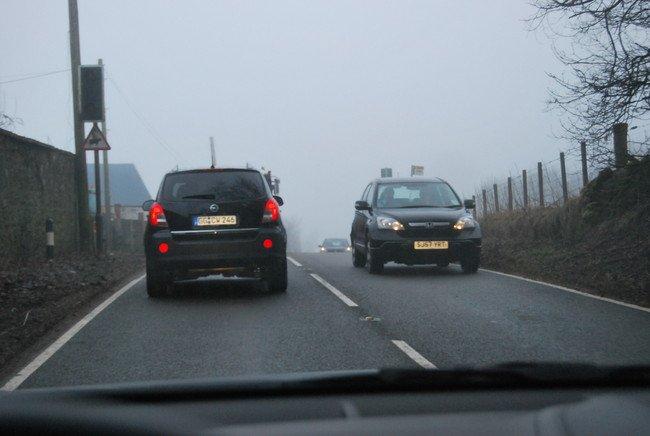 Carretera convencional en Reino Unido