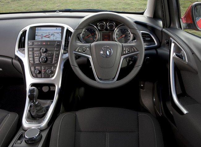 Vauxhall Astra - Volante a la derecha