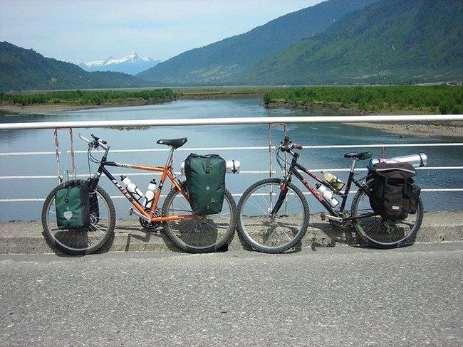 excursión en bici