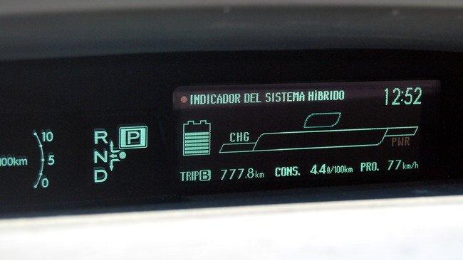 Conducción eficiente - Toyota Prius