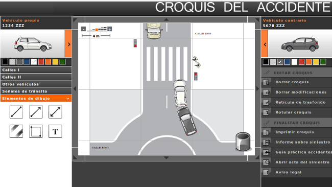 Croquis Accidente