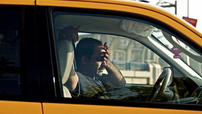 Conmoción cerebral en el coche