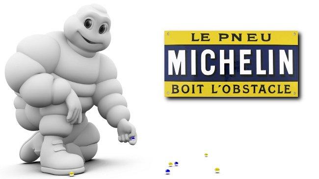 Los neumáticos Michelin se beben los obstáculos