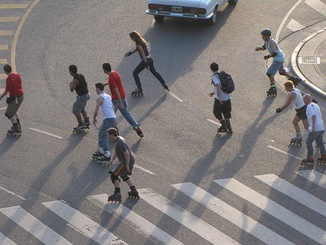 Patins em Buenos Aires