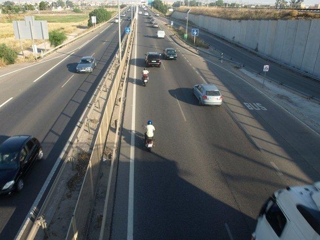 motos por la autovía de capreolus